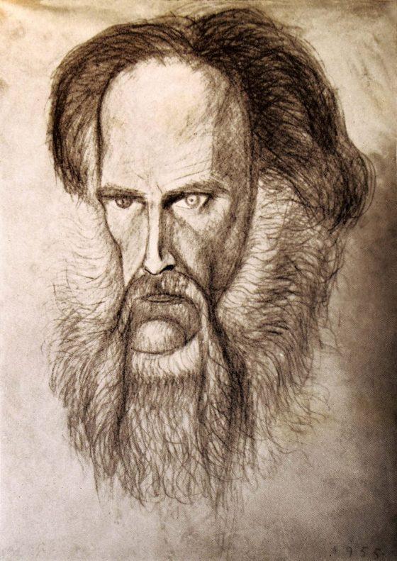 Autoportrait par Lanza del Vasto