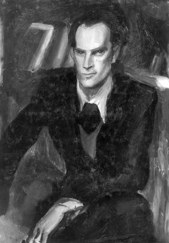 Portrait de Lanza del Vasto par Giovanni Costetti