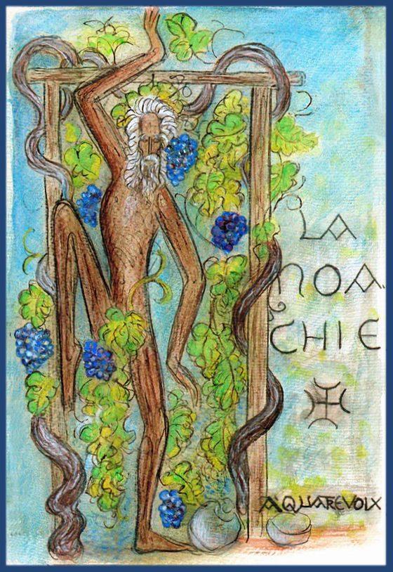 La Noaquía [dibujo de Lanza del Vasto]