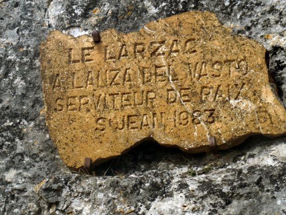 Homage to Lanza del Vasto (Larzac, 1983)