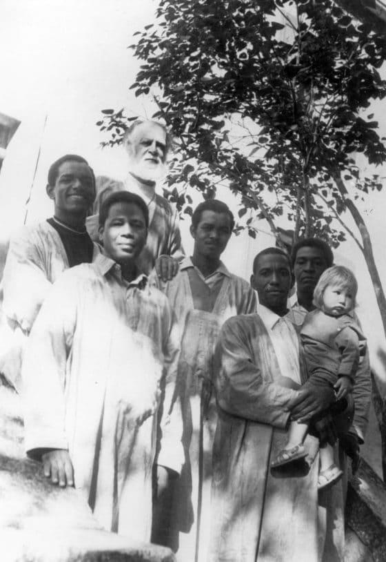 En Marruecos visitando amigos bereberes