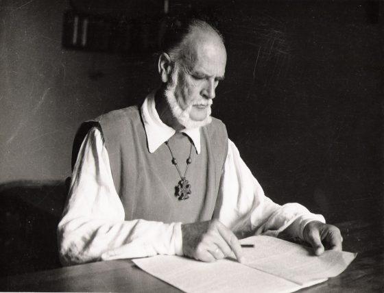 El autor en la Borie-Noble, 1963