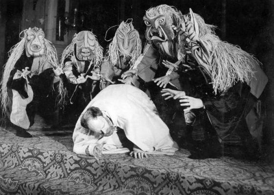 La Pasión representada en Saint Sèverin (París 1951): Jesús tentado