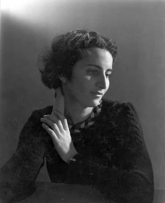 Simone Gébelin, vers 1940.