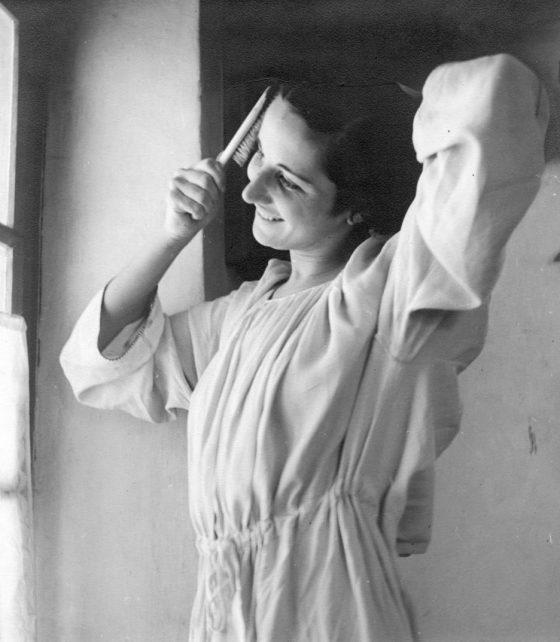 Simone Gébelin (Chanterelle) vers 1940.