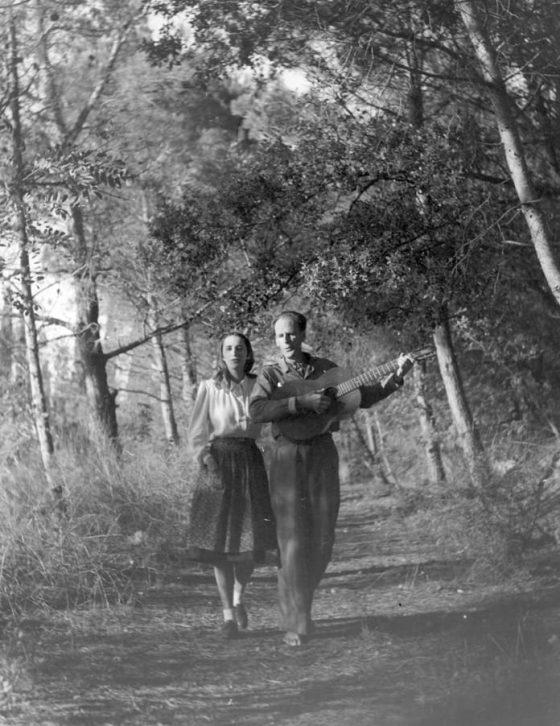 Une amitié musicale (vers 1945).