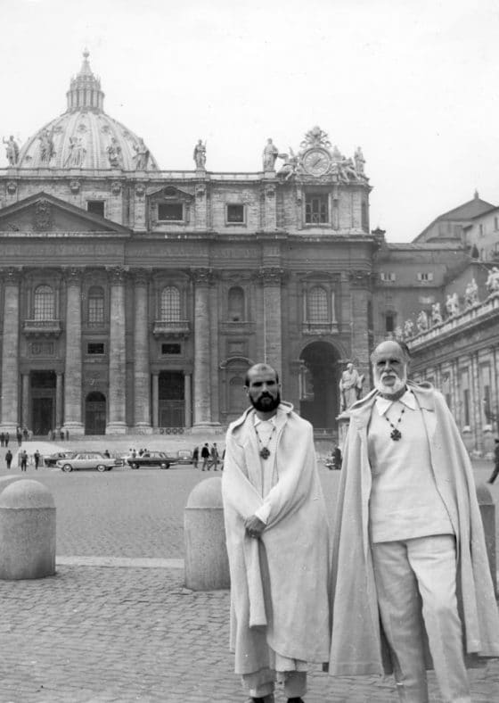 At Saint Peter's in Rome, a 40-day fast (1963).