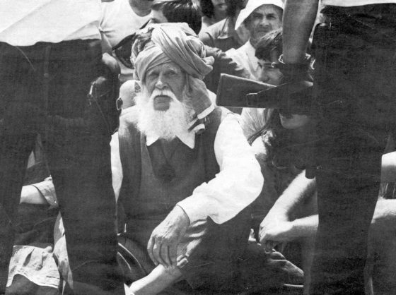 En 1976 en Malville, en contra del reactor nuclear