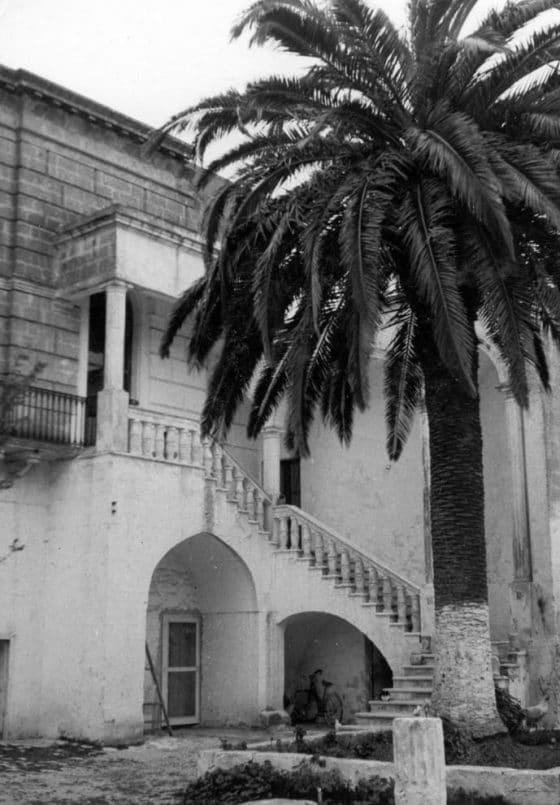 Sa maison natale, Specchia di mare.