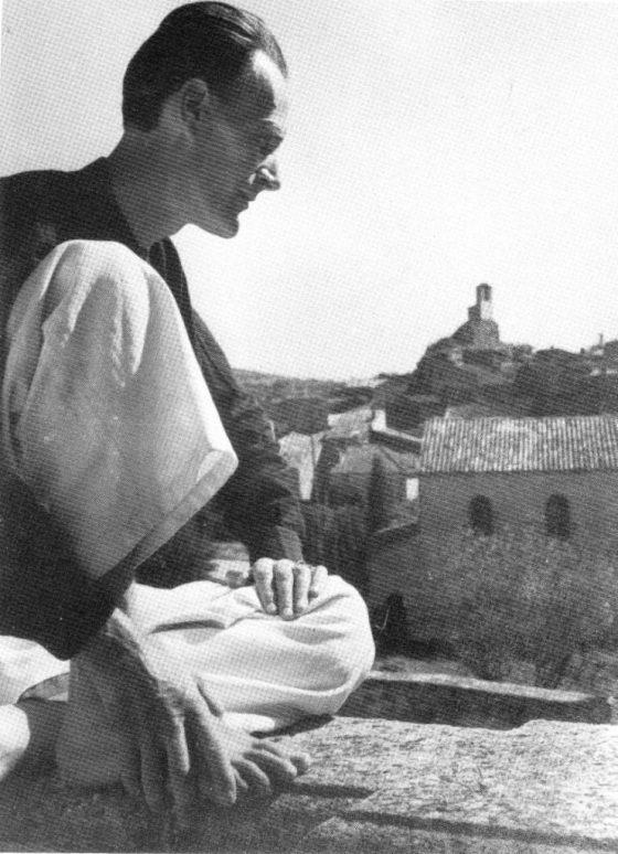 Séjour en Italie, vers 1933.