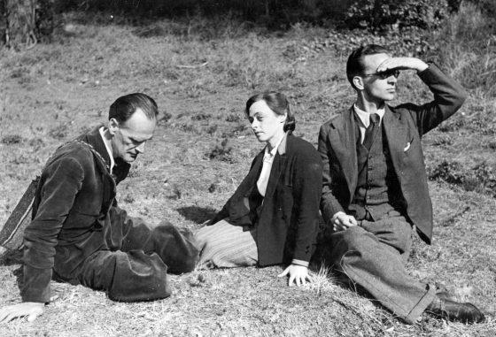 Avec René Daumal et son épouse Véra (Allauch, 1941)