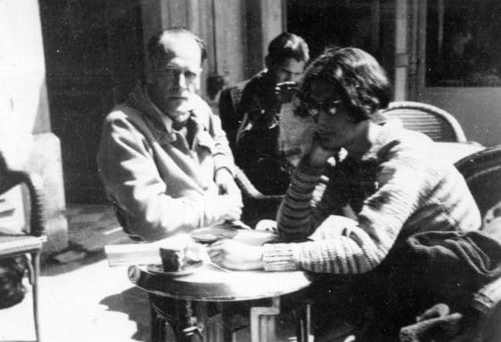 Avec Simone Weil (Marseille, 1942).