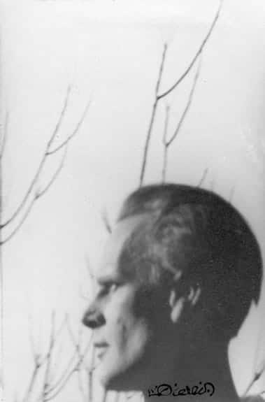 Portrait de Lanza par Luc Dietrich.