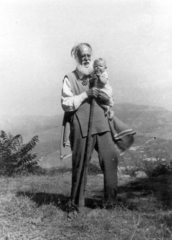Lanza del Vasto - Le vieil homme et l'enfant.