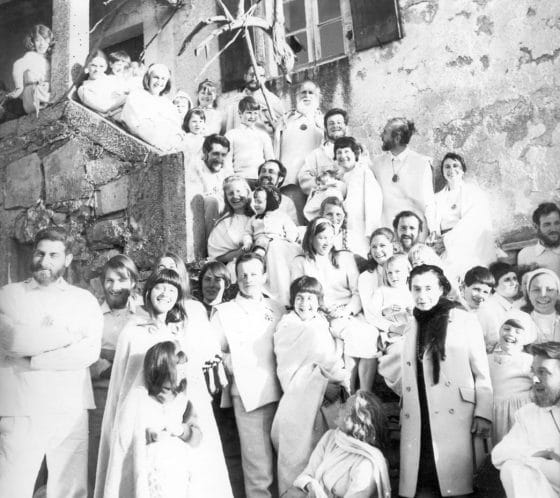 Lanza del Vasto - La Communauté de la Borie-Noble (1970).