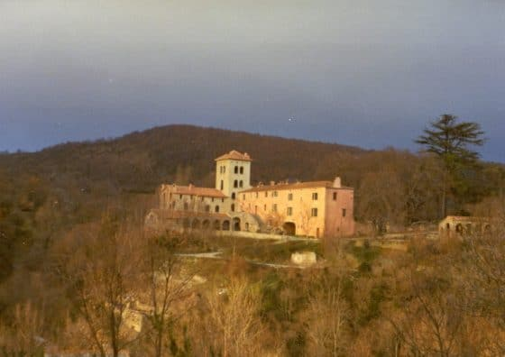 Lanza del Vasto - La maison-mère, à la Borie-Noble.