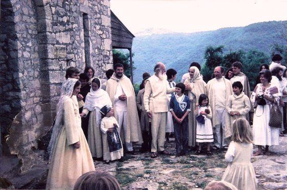 Lanza del Vasto - Mariage de Daniel et Monique (1975)