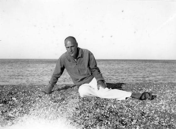 À Rhodes en 1938.
