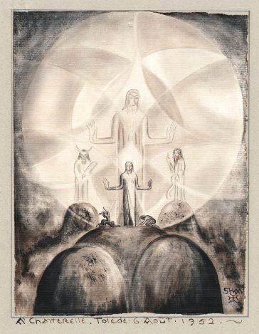 Lanza del Vasto - La trasfigurazione di Cristo