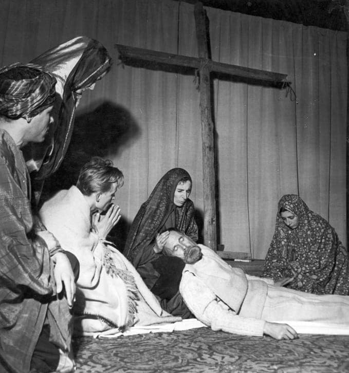 The Passion performed in Saint-Séverin (1951)