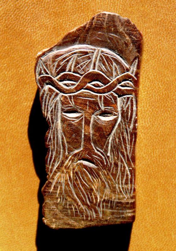 Cristo coronado de espinas (frente) - Lanza del Vasto