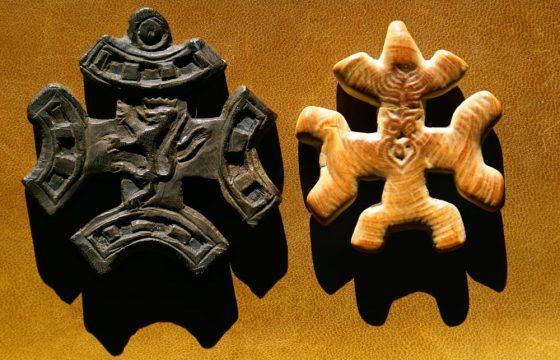 Cruz de Lanza del Vasto y de Chanterelle (dorso)