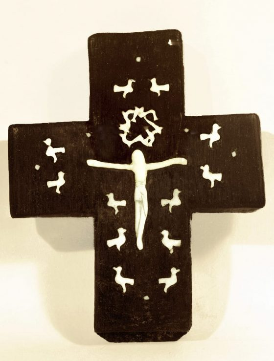 Crucifijo con pájaros - Lanza del Vasto