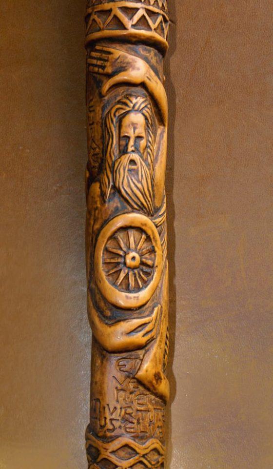 El bastón del peregrino (Elías) - Lanza del Vasto