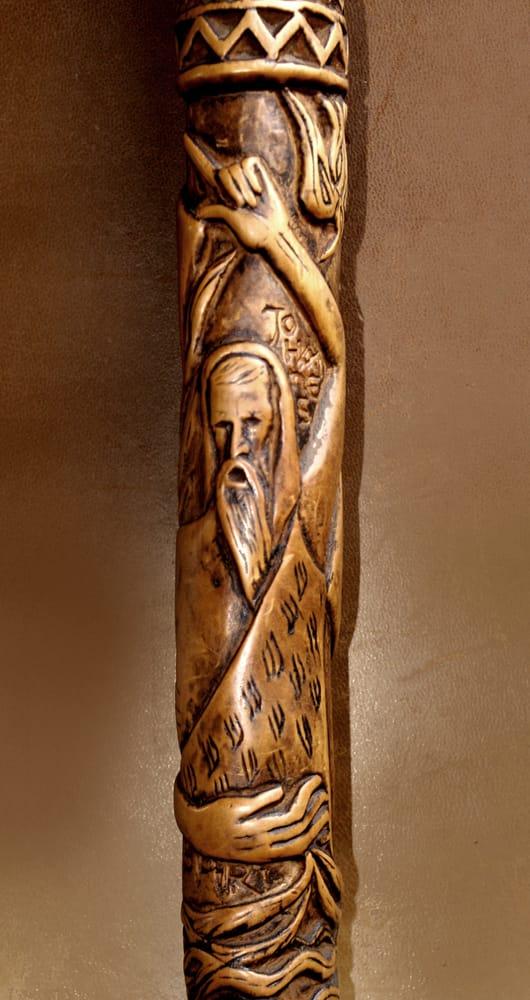 El bastón del peregrino (Juan Bautista) - Lanza del Vasto