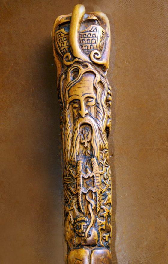 El bastón del peregrino (Noé) - Lanza del Vasto