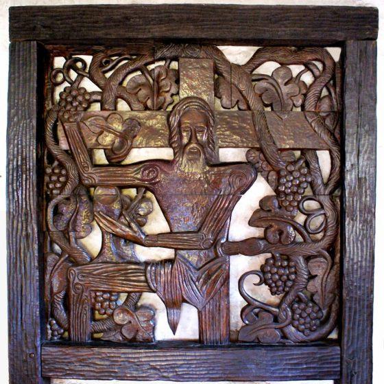 El Cristo con vid - Lanza del Vasto