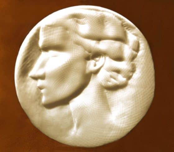 Medallón de Diana (frente) - Lanza del Vasto