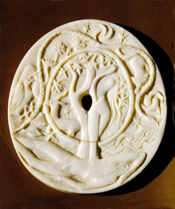 Nacimiento de Eva (frente) - Lanza del Vasto