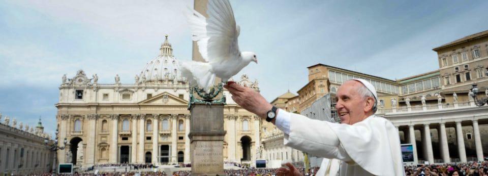 Messe pour l'anniversaire de l'élection du pape François