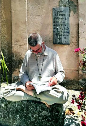 Frédéric Vermorel, moine ermite en Calabre