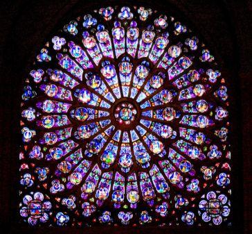 """In onore di Notre Dame: """"Le vitrail""""( la vetrata), il più bel poema di Lanza del Vasto"""
