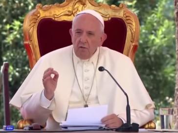 Le pape François cite Lanza del Vasto