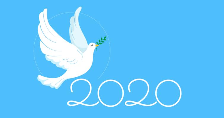 Lanza del Vasto bonne année 2020