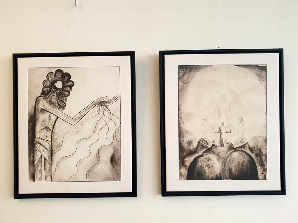 Retour sur l'exposition sur Lanza del Vasto au Café Dorothy à Paris
