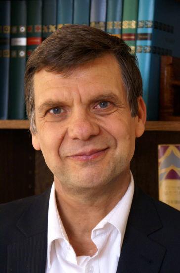Daniel Vigne, président de l'association des amis de Lanza del Vasto