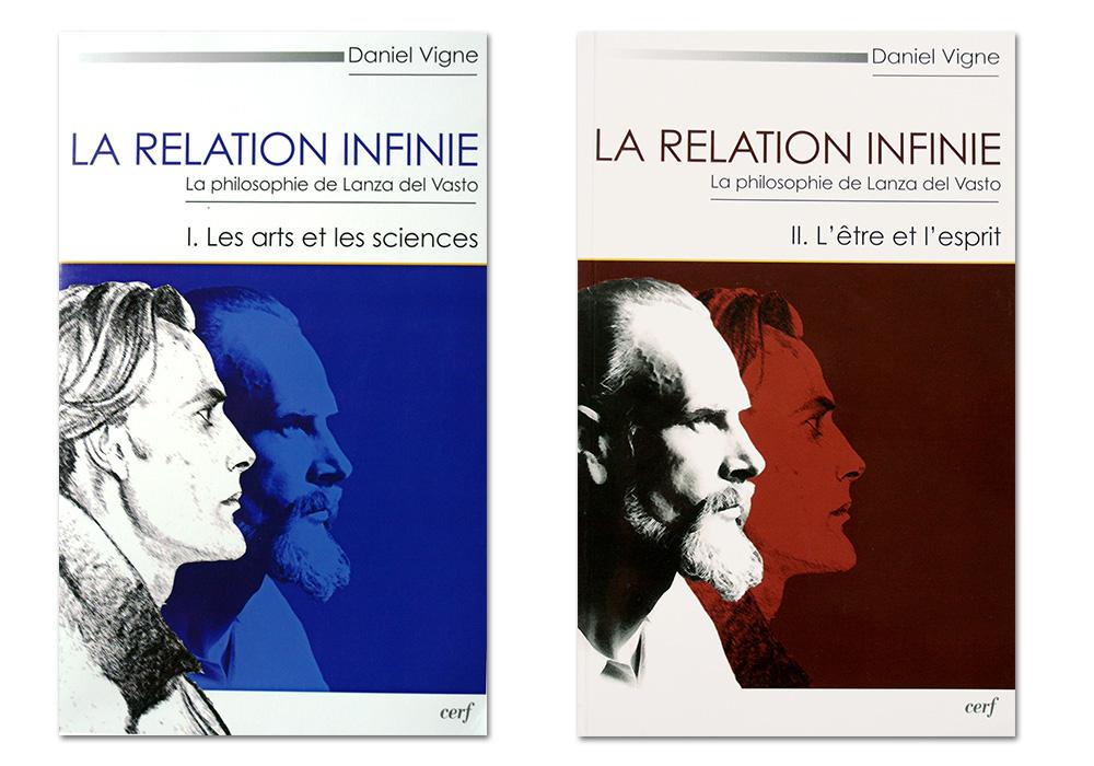 Daniel Vigne, président de l'association des amis de Lanza del Vasto et auteur de la thèse en deux volumes: La relation infinie